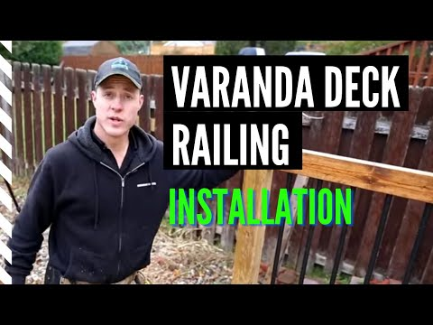 Quick and Easy DIY Installing the Veranda Deck Railing System
