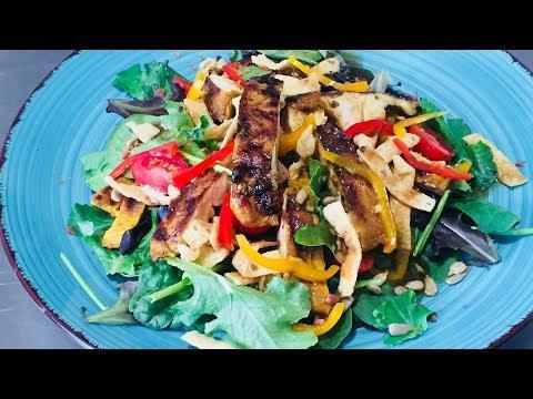 Grilled Asian Chicken Salad