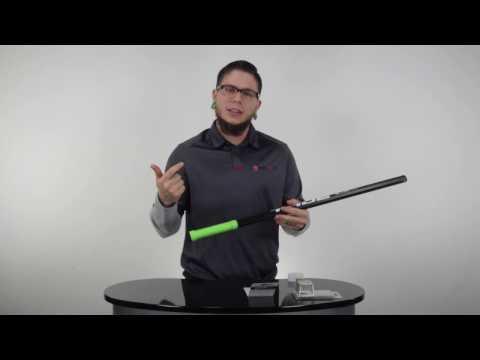 How To Apply Lizard Skins Lacrosse Stick DSP Grip Shaft Wrap @SportStop com