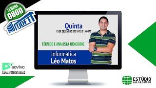 Aulão 0800 – Informática – Léo Matos