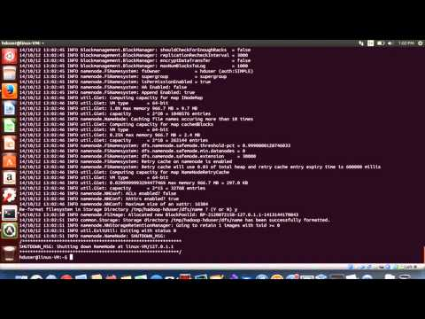Installing Hadoop on Ubuntu 14.04