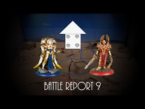 Warmachine Battle Report 9: 50 pts. Convergence of Cyriss Vs Protectorate of Menoth