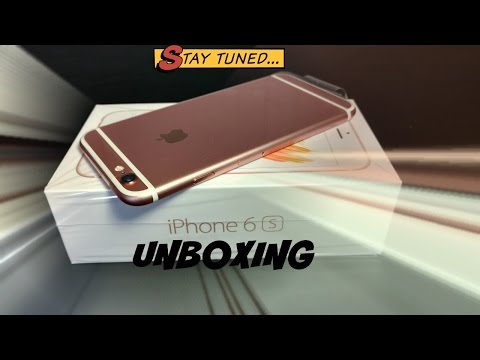  Apple iPhone 6s ROSE GOLD Pink Model Unboxing & Setup  Get Paid Apps Free on iOS & Android Tutoria