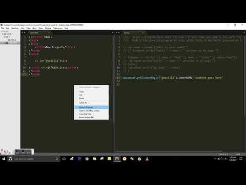 Tutorial JavaScript