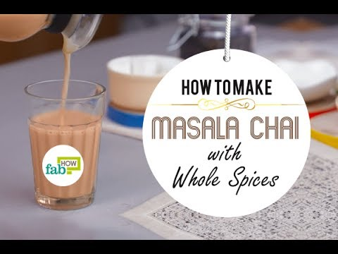 How to Make Authentic Indian Masala Chai (Tea) in 5 Mins