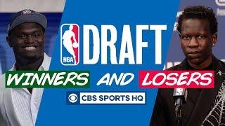 Pelicans CLEAN UP, Bol Bol PLUMMETS | NBA Draft Winners & Losers | CBS Sports HQ
