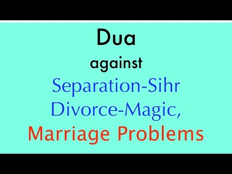 Dua for NOT be able to get a CHiLD 💔 Marriage-Problems, Divorce-Magic [by Khalid Habashi]