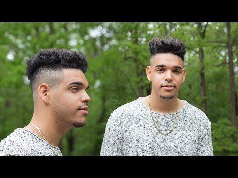 MENS HAIR | 2015 | HOW TO STYLE | THICK / MIXED / CURLY HAIR | (STEP BY STEP TUTORIAL) | Mulattolee