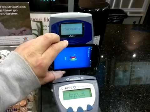 Using Google Wallet at Tim Hortons in Toronto, Canada!