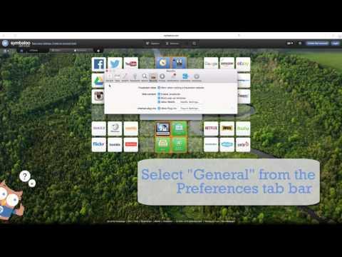 Set Your Homepage - Safari
