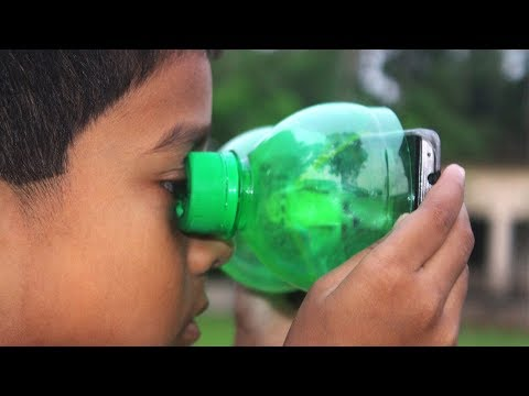 How to Make a Smartphone VR at Home using Plastic Bottle
