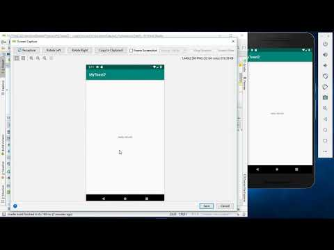 How to capture screen on Android Studio/Android Emulator