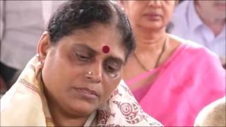ys jagan daughter varsha reddy pays tribute to ysr 9th anniversary