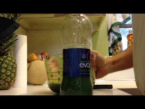 Part 2: green juice with arugula. bottling
