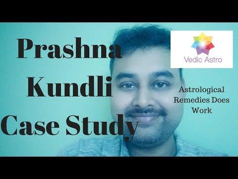 Prashna Kundli Case Study  -  Deep Dive Vedic-Astro.in