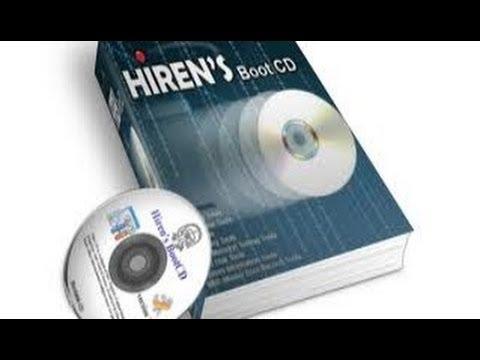 صيانة : شرح حرق أسطوانة الهيرن hiren's boot على dvd أو cd