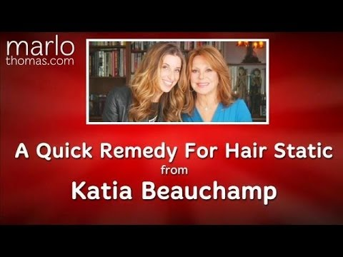 Quick Fix For Hair Static