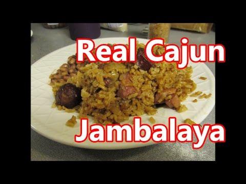 Pork butt smoked Cajun sausage Jambalaya