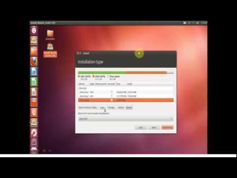 cara instal dual boot windows7-ubuntu 12.04