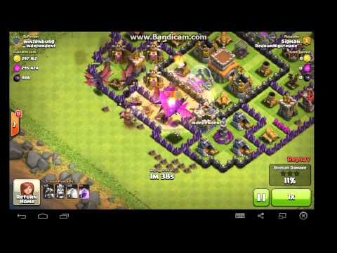 Clash of Clans - Dragon Attack Strategy!