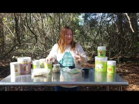 Preparing Hiking single serving freeze dried meal (ThriveLife) 1