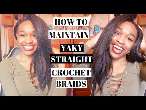 Xxx Mp4 How I Care For My Freetress Yaky Bounce Crochet Hair 5weeks 3gp Sex