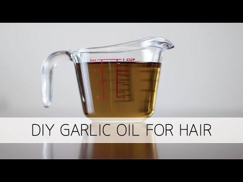 Garlic Oil For Hair Growth & Shedding