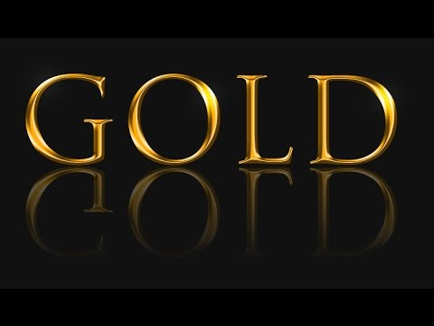Create Gold Text in Adobe Photoshop