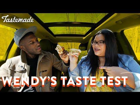 Wendy's Taste Test | Good Times With Jen