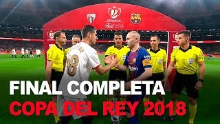 Sevilla 0-5 Barcelona COMPLETO | Final Copa del Rey 2018 | Fútbol