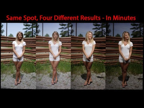 Ultimate Control Of Speedlight Flash Outdoors - Fixing The Worst Lighting Conditions