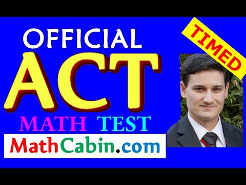 💪Most Powerful ACT Math Strategies for 2018 (Official ACT Math Practice Test) ACT Prep