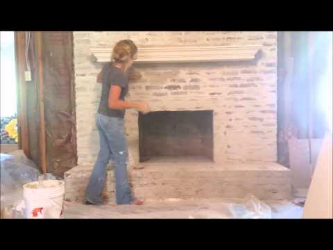 Brick and Mortar Wash Technique