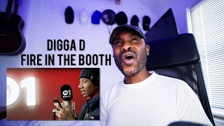 Digga D - Fire In The Booth [Reaction] | LeeToTheVI