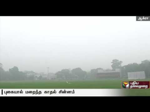 Air pollution Threatens the Taj Mahal, Delhi cricket ground