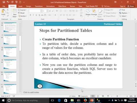 Partition Table in SQL Server