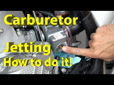 Save $500 and Have a Great Running Dirt Bike   How to Jet Your Carburetor