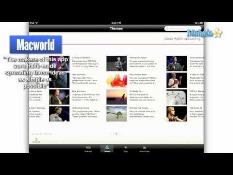 TED iPad App Review