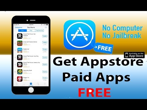 Get FREE Apps/Games (NO JAILBREAK) (NO COMPUTER) iOS 10-10.2.1 From App-Store! iPhone, iPad, iPod