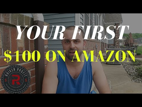 How To Make Your FIRST $100 Selling on Amazon FBA for Beginners