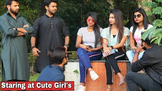 Gangster Staring At Girl's Prank - Epic Reactions   Prank In Kolkata 2020  By TCI