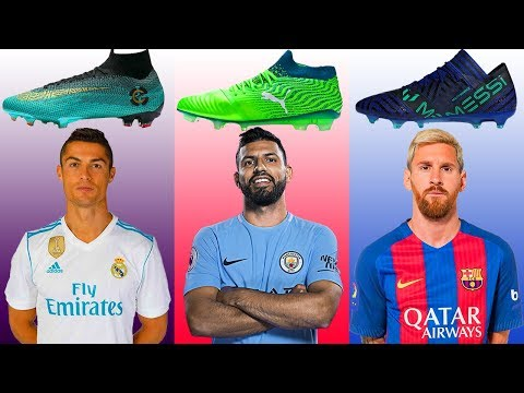 Top 35 Forwards And Their Boots II 2018 II