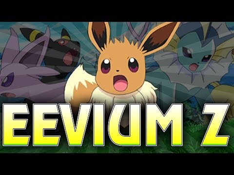 How To Get Eevium Z In Pokemon Ultra Sun and Moon! [Eevee Z-Move: Extreme Evoboost]