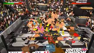 Elimination Chamber match- WR3D