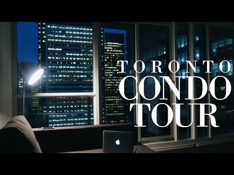 incredible 30th FLOOR TORONTO CONDO TOUR!