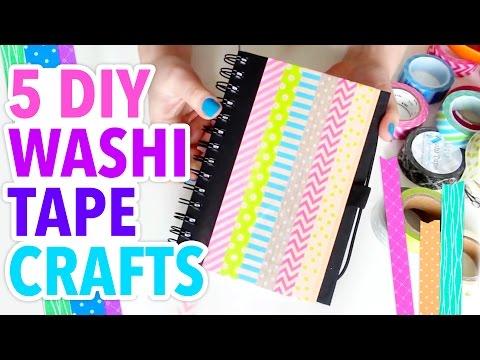 5 Easy Washi Tape Crafts - Weekly Recap - HGTV Handmade