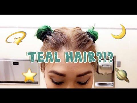 How I Got Teal Hair!   awkwardflowers_