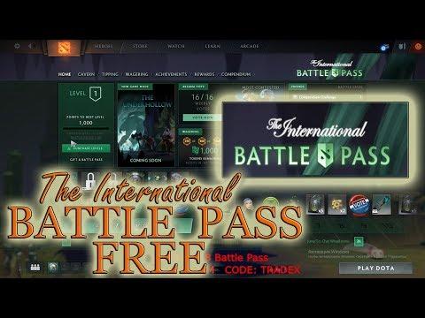 Dota 2 Free TI8 BATTLE PASS 2018. Preview