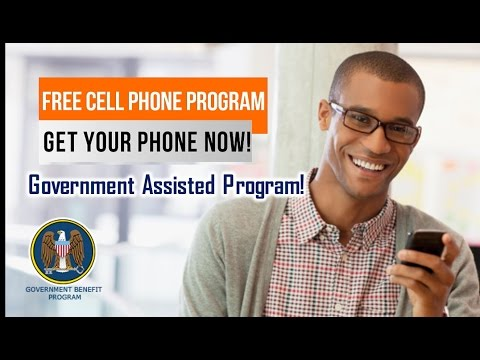 Free Cell Phone Government Assisted Program