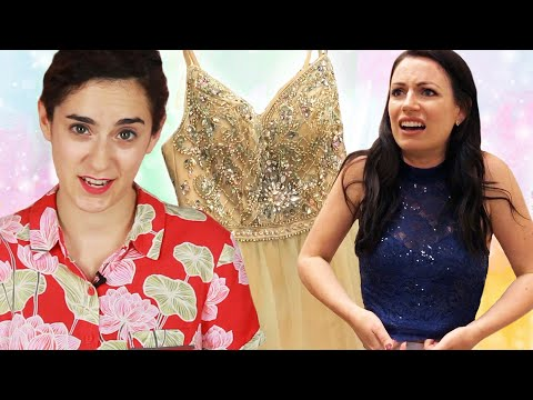 Women Who Never Went To Prom Choose Prom Dresses